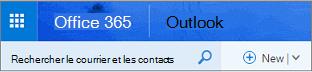 Voici ce à quoi ressemble Outlook sur le web