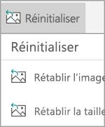 Réinitialiser