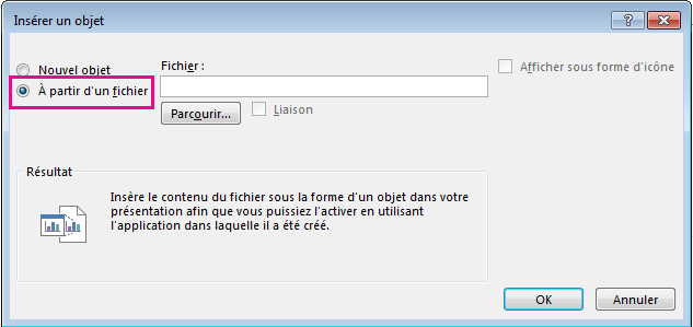 importer un document word