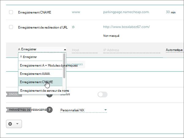 Namecheap-utilisation optimale-configurer-3-1