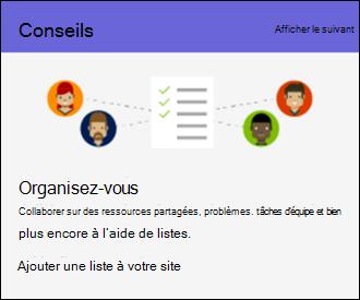 Conseils d'utilisation de SharePoint Online