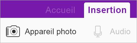 Utiliser Office Lens pour insérer une image dans votre bloc-notes