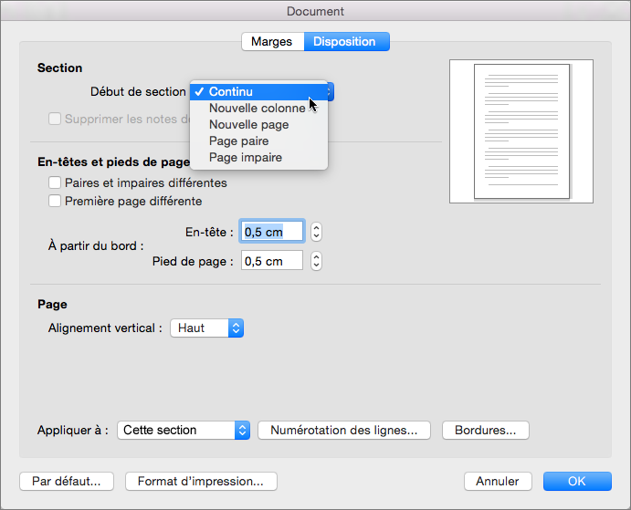 Supprimer une page dans word support office for Dans word