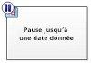 Pause jusqu'à une date donnée