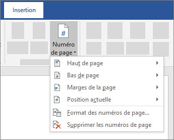 comment paginer un document word