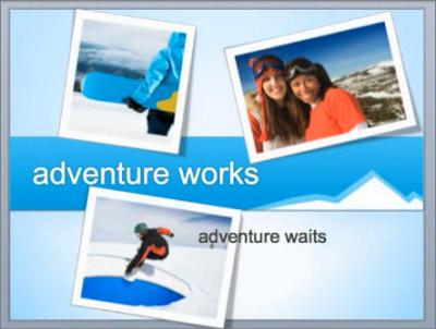 Exemple de diapositive après réorganisation des objets