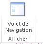 Afficher le bouton Volet de navigation dans Access