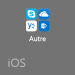 Autres applications Office sur iOS
