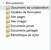 Icône Non synchronisé ajoutée aux listes d'un espace de travail SharePoint
