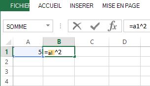 La formule se trouve dans la cellule adjacente.