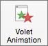 Afficher/masquer le volet Animation avec le bouton Volet Animation sur le ruban