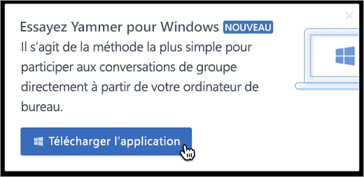La messagerie pour Windows de produit