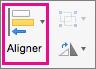 Aligner dans PowerPoint pour Mac