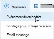 Créer une réunion en ligne