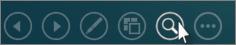 Cliquer sur la loupe pour effectuer un zoom avant