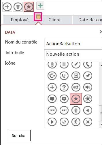 ajouter des contrôles personnalisés dans une application access