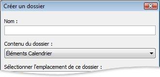 Create New Folder dialog box