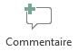 Le bouton Insérer un commentaire dans PowerPoint Online
