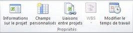 Graphique de propriétés de projet