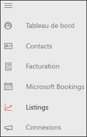 Capture d'écran: Icône Référencements