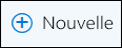 Outlook sur le web - Icône Nouveau courrier