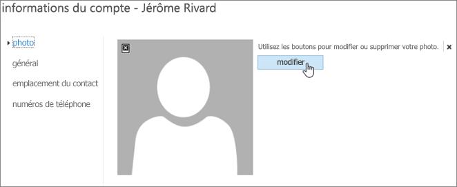 Cliquez sur Modifier pour accéder à la photo que vous voulez télécharger.