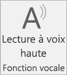 Icône Lecture à voix haute