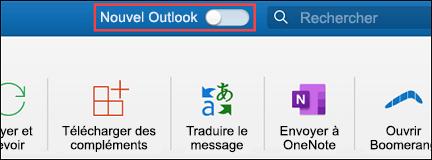 Nouvel Outlook pour Mac