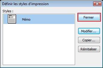 Click Close to close the Define Styles dialog box.