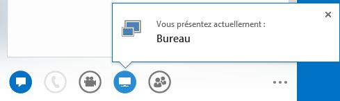 Capture d'écran de présentation du Bureau