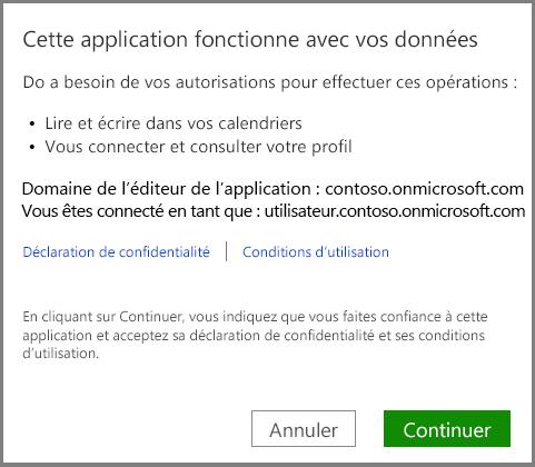 Connectez-vous à Office365