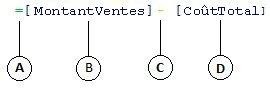 Formule de colonne calculée