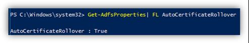 Get-ADFSProperties