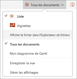 SharePoint Online affichages dans Internet Explorer 11