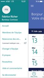 Ressources StaffHub pour les employés