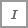 Icône Italique