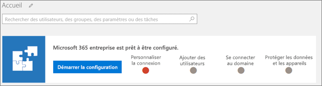 Capture d'écran de l'Assistant Installation de BusinessCloudSuite