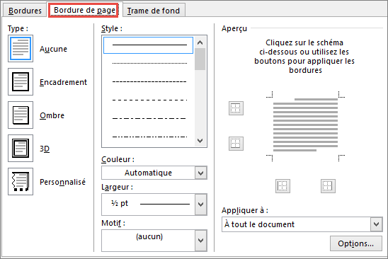 telecharger bordure de page word 2007 gratuit