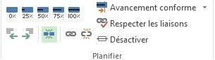 Image du bouton Fractionner la tâche sur l'onglet Tâche.