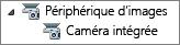 Liste des périphériques d'images