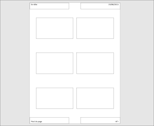 Masque du document PowerPoint
