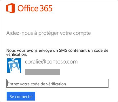 Se connecter office 365 avec une deuxi me m thode de v rification support office - Activer office par telephone ...