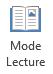 Mode lecture convient pour la lecture d'un écran complet de présentation PowerPoint lorsqu'il n'y a aucun présentateur.