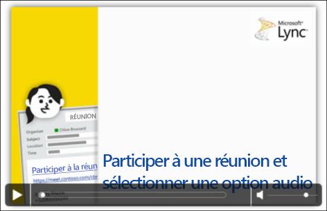 Capture d'écran d'une diapositive PowerPoint avec les contrôles vidéo