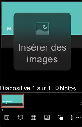 Affiche les éléments à onglet sur iPhone