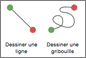 Animations de trajectoire Ligne ou Gribouille