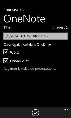 Envoyer des images à Word et PowerPoint sur OneDrive