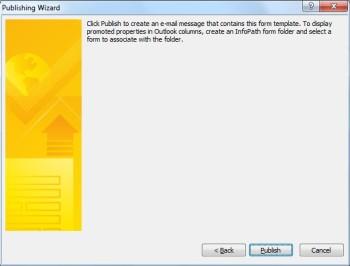 InfoPath2010 - Publier un formulaire