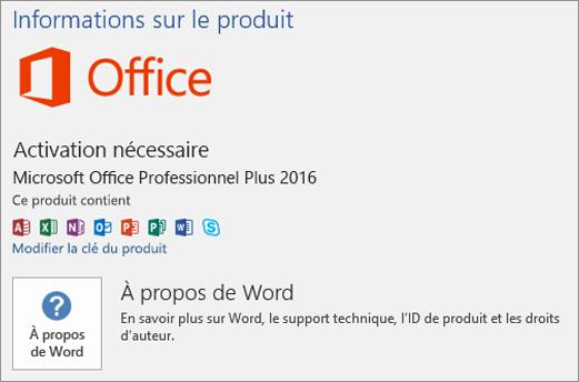 Office vous invite plusieurs reprises activer sur un for Produit de lustrage professionnel