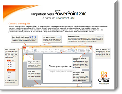 Miniature du Guide de migration PowerPoint